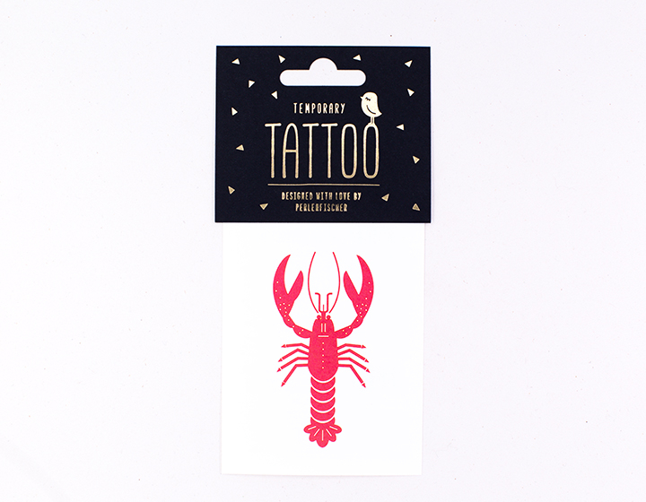 Tattoo | Roter Hummer