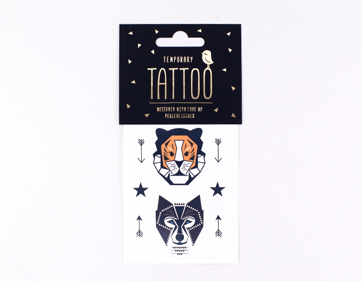 Tattoo | Tiger & Wolf