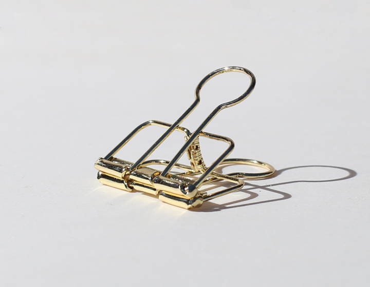 Binder Clip gold 34mm