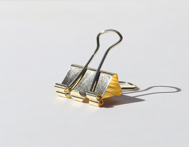 Binder Clip gold 25mm