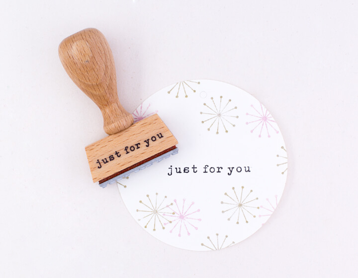 Stempel | Just For You klassisch