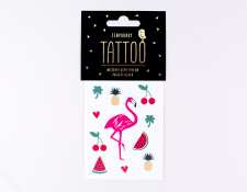 Tattoo | Flamingo Cocktail